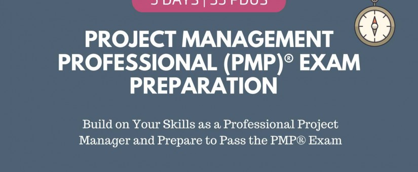 VIRTUAL CLASSROOM – Project Management Professional (PMP) Exam Preparation (Nov 2021)