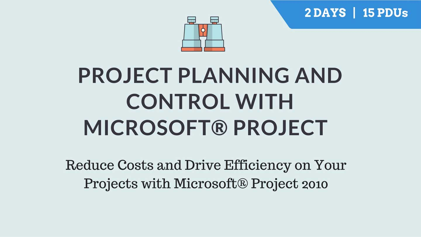 Project planning & Control Microsoft
