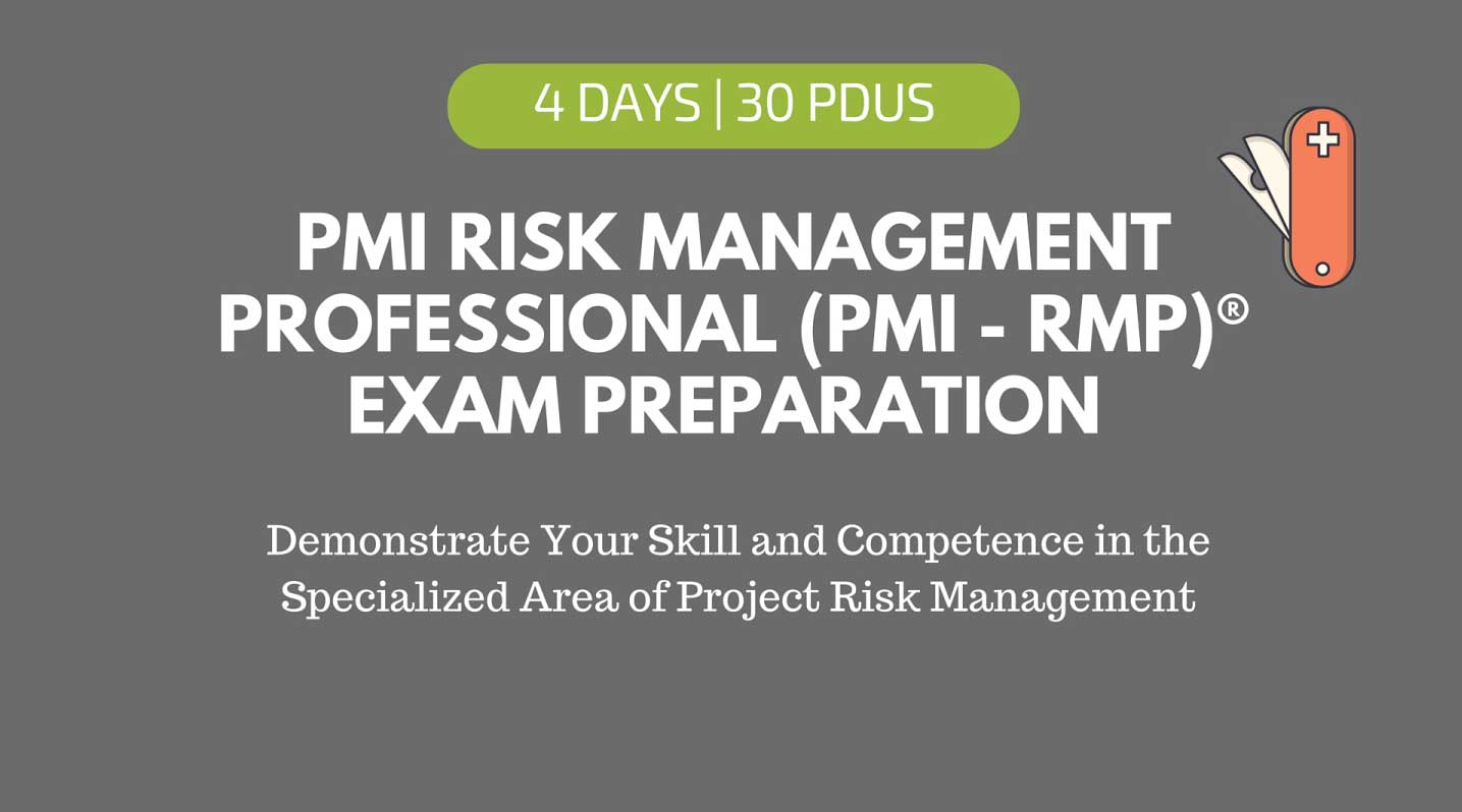 PMI-Risk management professional exam preparation