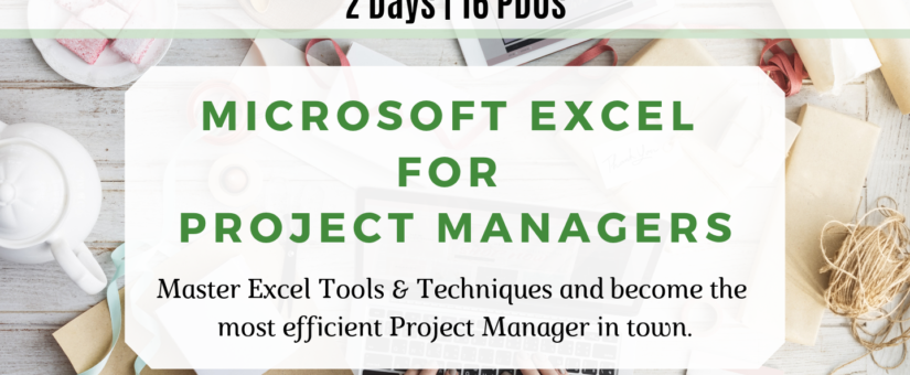 MALAYSIA – Microsoft Excel for Project Managers (18 & 19 Nov)