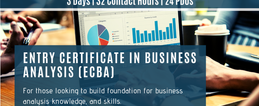 VIRTUAL CLASSROOM – Effective Business Analysis/Entry Certificate in Business Analysis (ECBA™) Exam Preparation (Dec21)