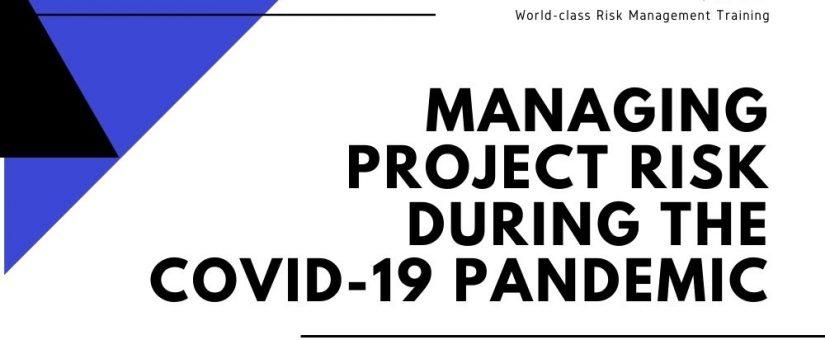 VIRTUAL CLASSROOM – Project Risk Management (Nov 2021)
